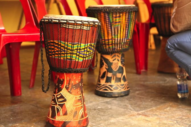 langa community center drums