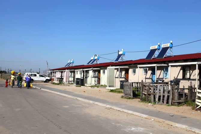 langa township solar power