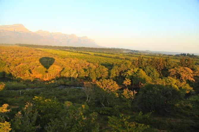 hot air balloon blyde river canyon south africa
