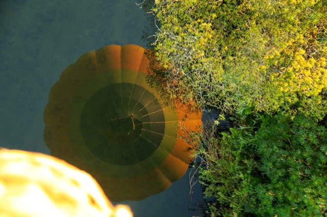 hot air ballooning limpopo