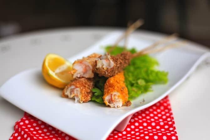 shrimp on a stick taste