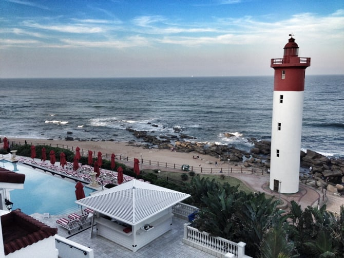Oyster Box Hotel View Durban South Africa