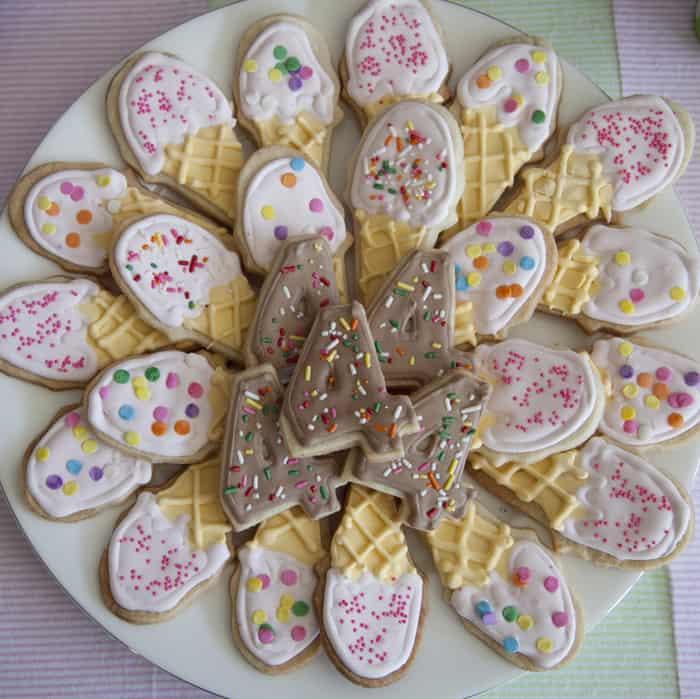 Ice Cream Party cookies