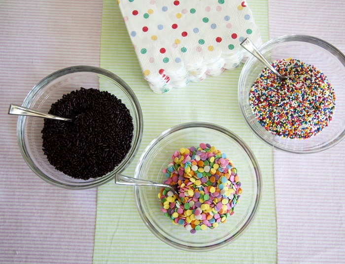 sprinkles Ice cream party