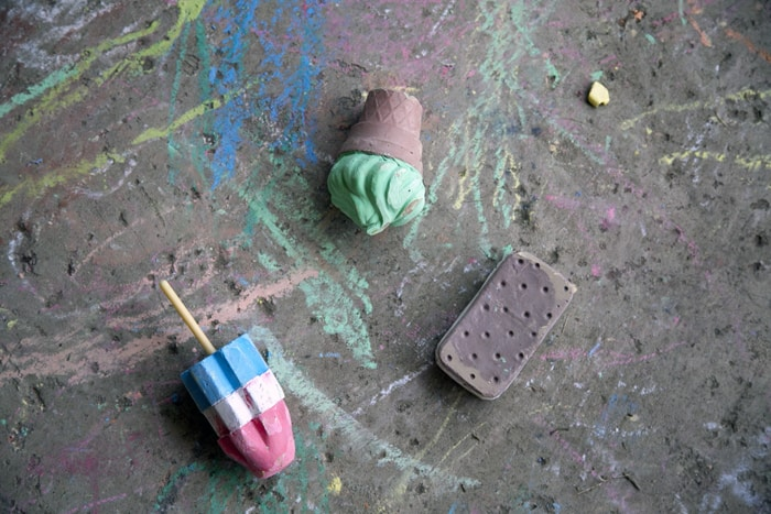 ice cream chalk