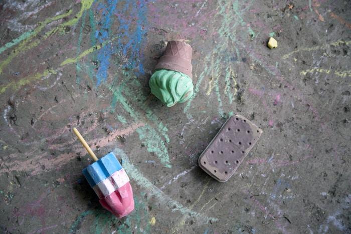 ice cream chalk