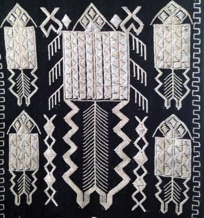 tribal weaving