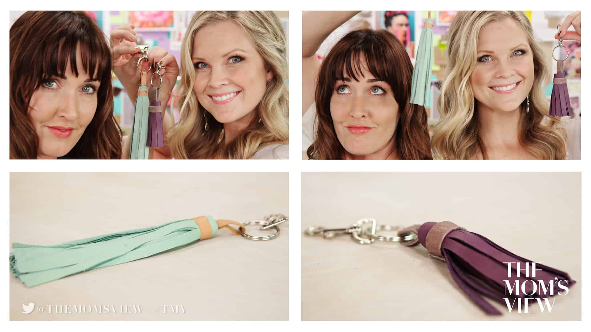 The DIY Challenge Show with Jaime and Kayli keychain