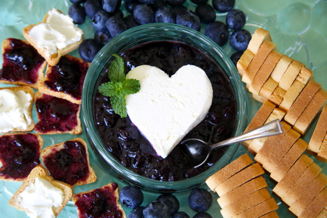 blueberry mint jam recipe