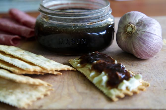 onion and roasted garlic jam recipe