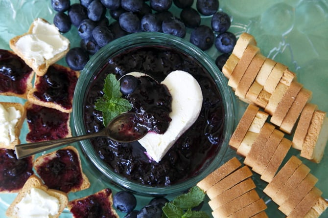 blueberry mint jam recipe 4