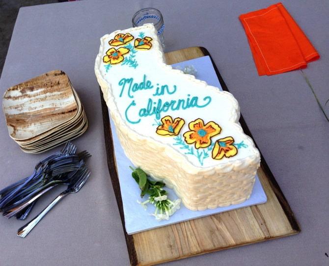 made in ca cake