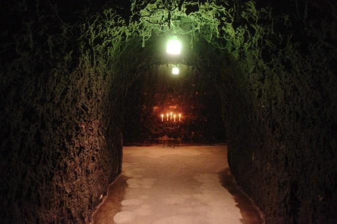 champagne caves napa
