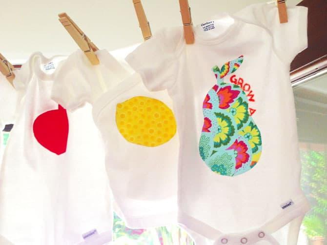 made in california baby shower onesies