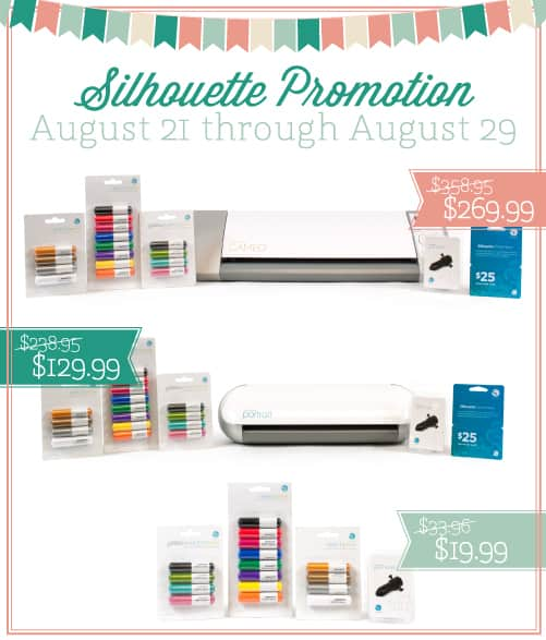silhouette giveaway silhouette sale teacher gifts