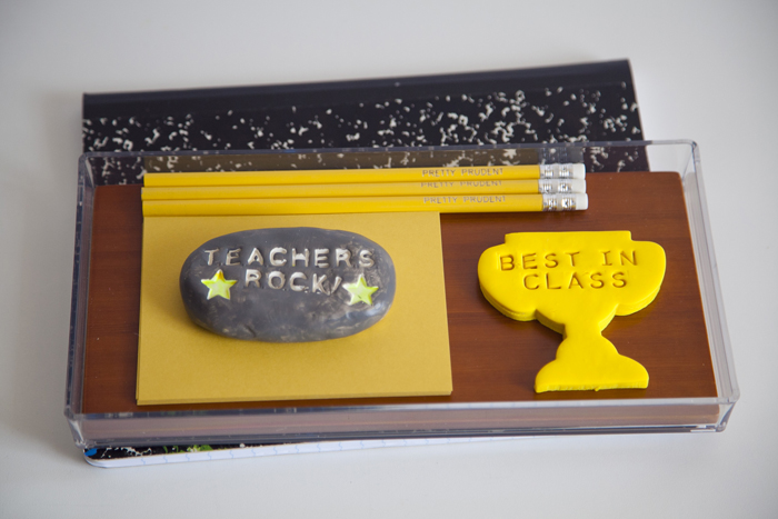 Teacher gift Polymer DIY Paperweight