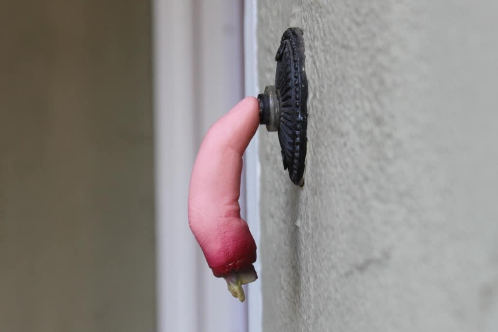 halloween finger doorbell