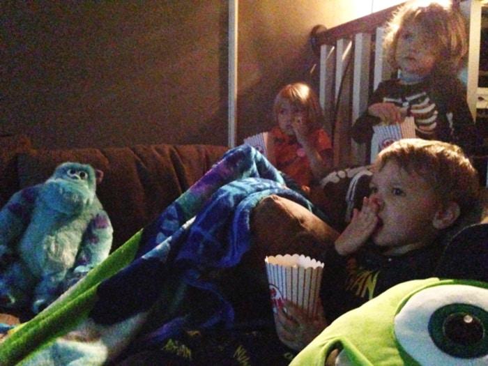 Monsters University Movie Night