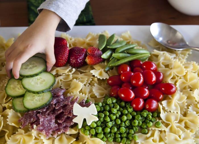 Festive Fresh Food Wreath Simply Dressed dressing