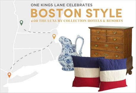 one kings lane boston decor sale