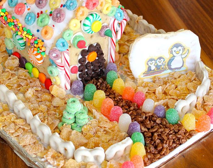 Diy Pop Tarts Gingerbread House Pretty Prudent