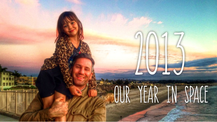 2013 Our Year in Space Curtis Video Holiday Card