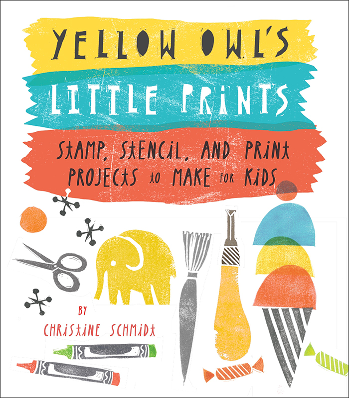 DIY Alphabet Block Art + Yellow Owl's Little Prints Giveaway