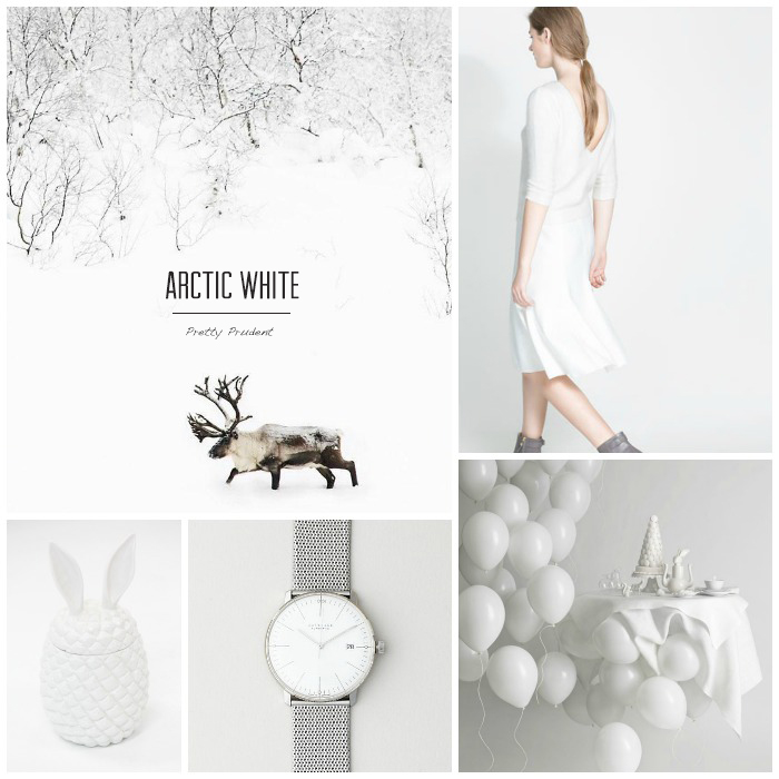 Pretty Prudent Trend: Arctic White