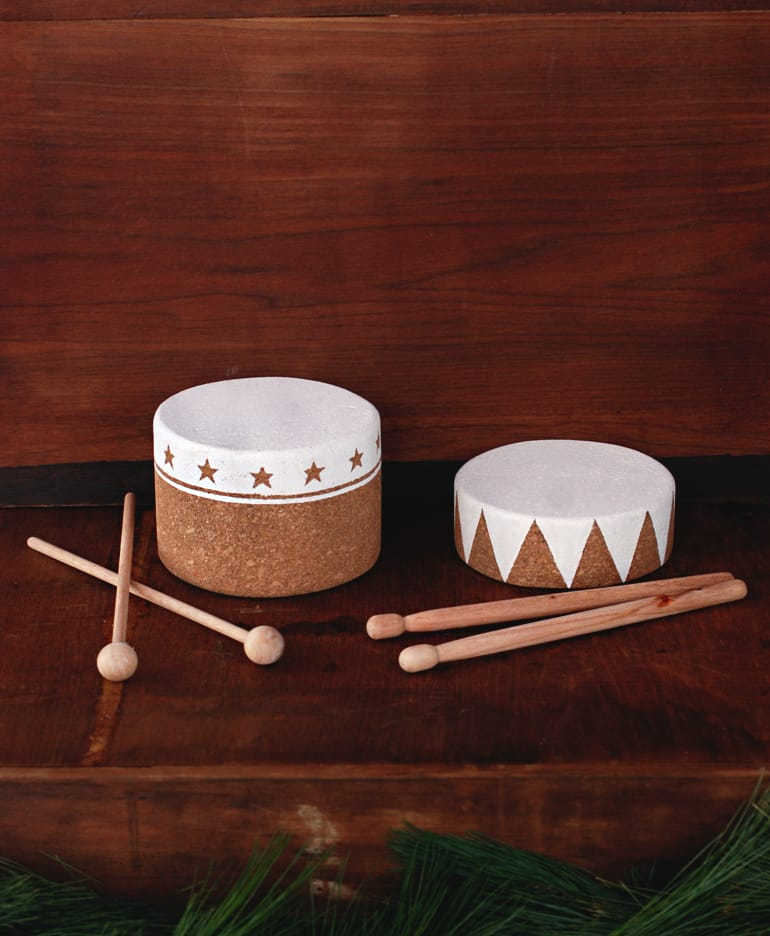 DIY Cork Drums