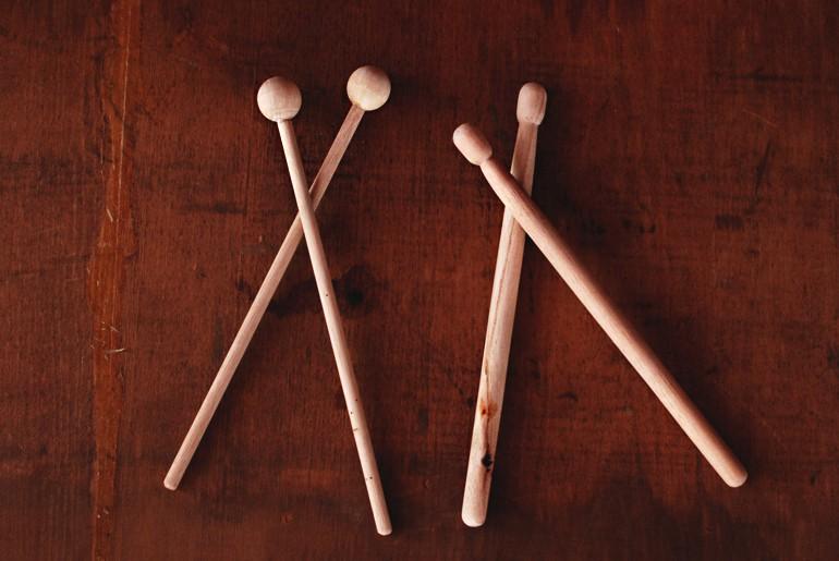 DIY Cork Drums