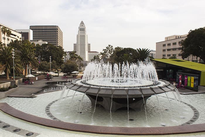 Grand Park LA - Downtown LA City Guide for the Family