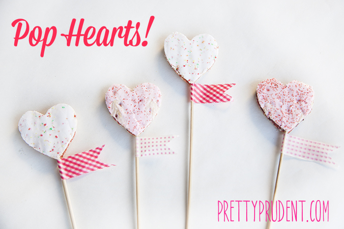 Pop Tarts Pop Hearts Valentine's Day Treat Idea