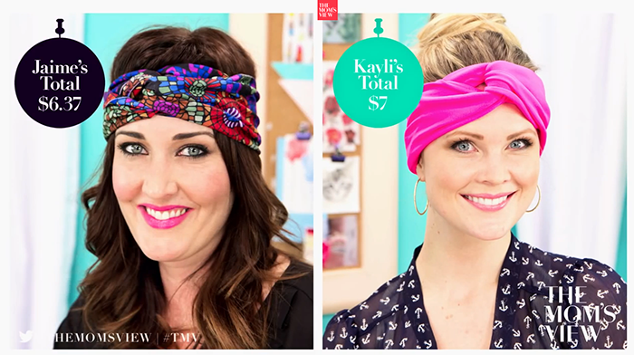 How to Make a Head Wrap: The DIY Challenge on The Mom's View