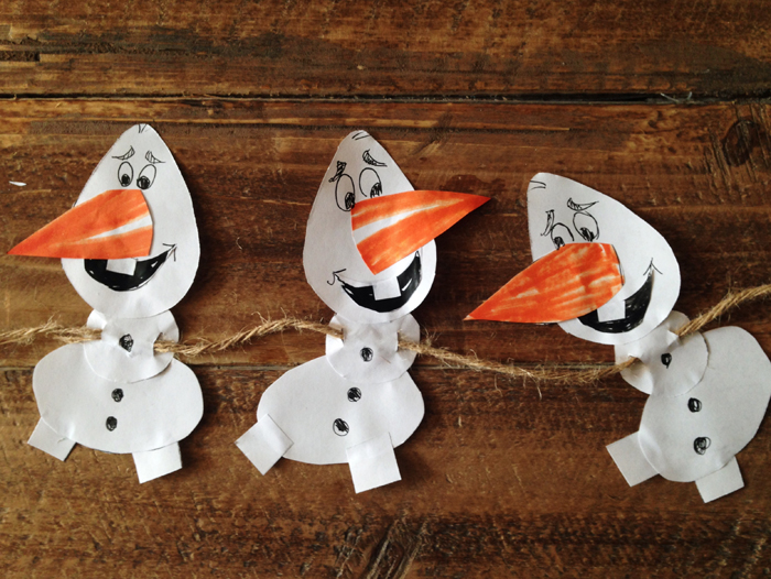 Olaf Frozen Party Printable