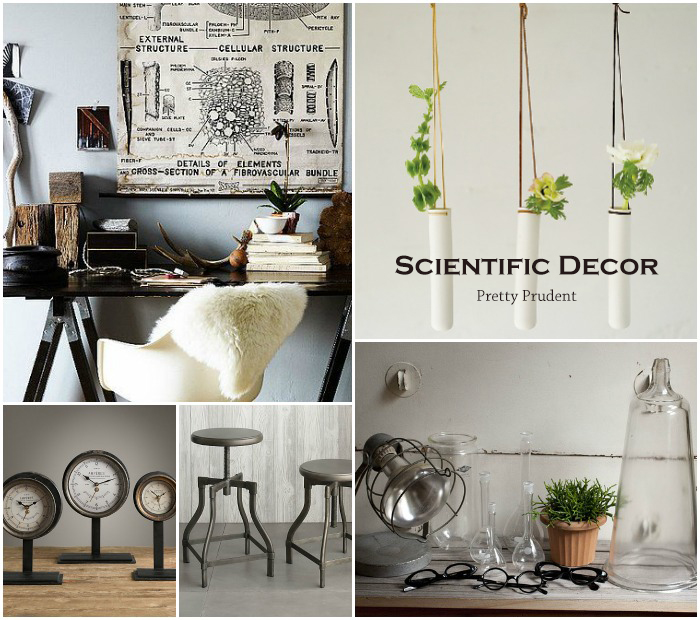 Pretty Prudent Trend: Scientific Decor
