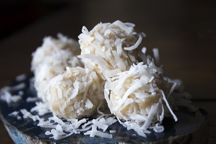 No-Bake Coconut Snowballs Recipe