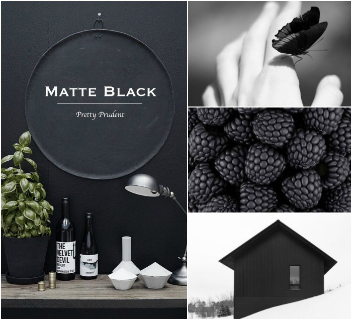 Pretty Prudent Trend: Matte Black