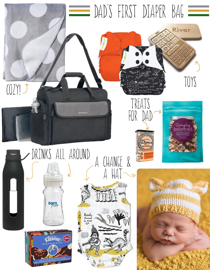 Daddy's First Diaper Bag_Layers