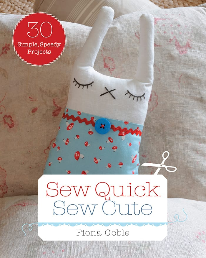 DIY Floor Cushion + Sew Quick, Sew Cute Book Giveaway