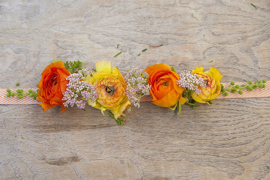 5-Minute Spring Flower Corsage