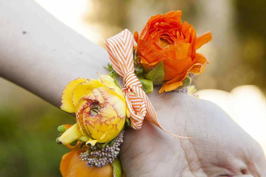 5 minute flower corsage pretty prudent