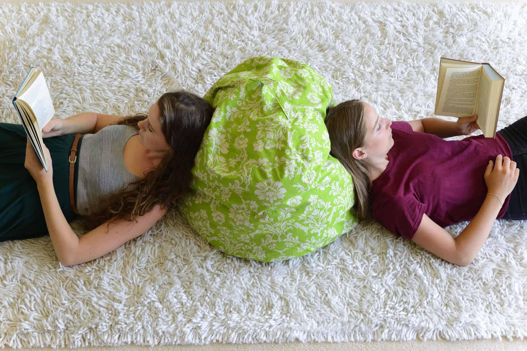 DIY Floor Cushion + Sew Quick, Sew Cute Book Giveaway