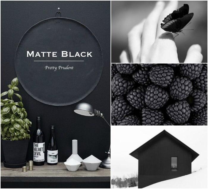 Pretty Prudent Trend: Matte Black