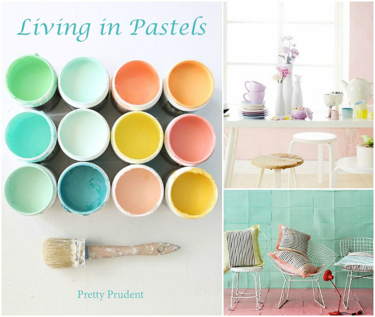 Living in Pastels