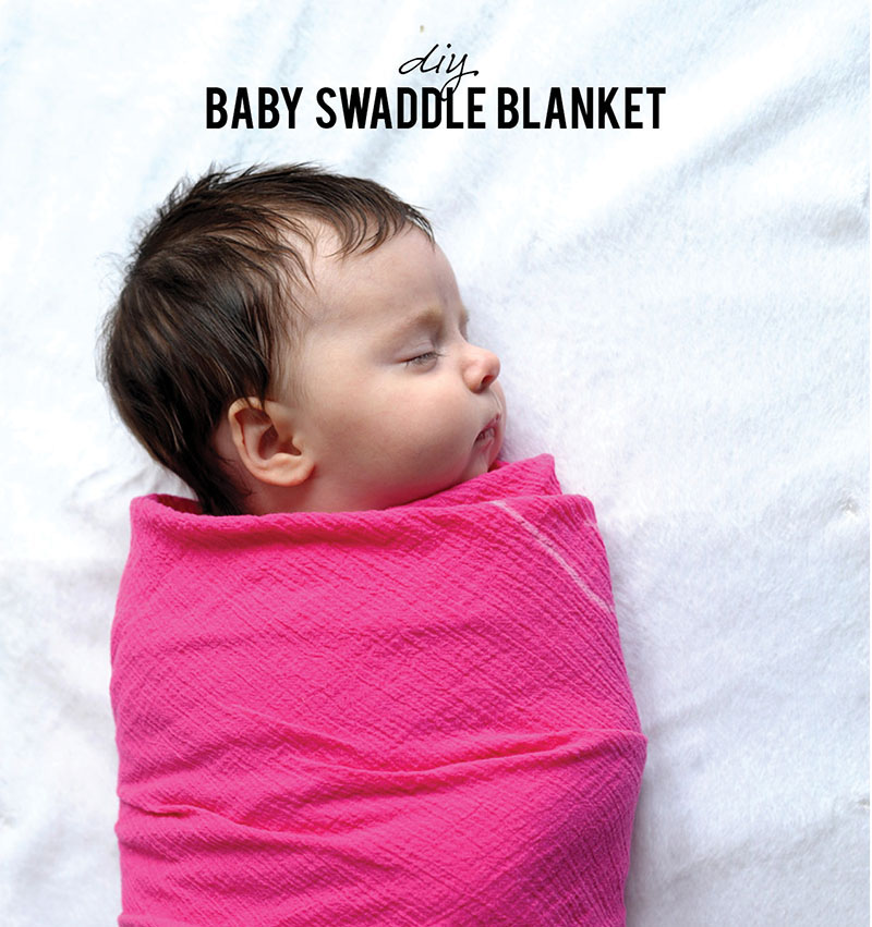 DIY Simple Swaddle