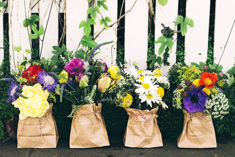 How to Make 4 Beautiful May Day Bouquets