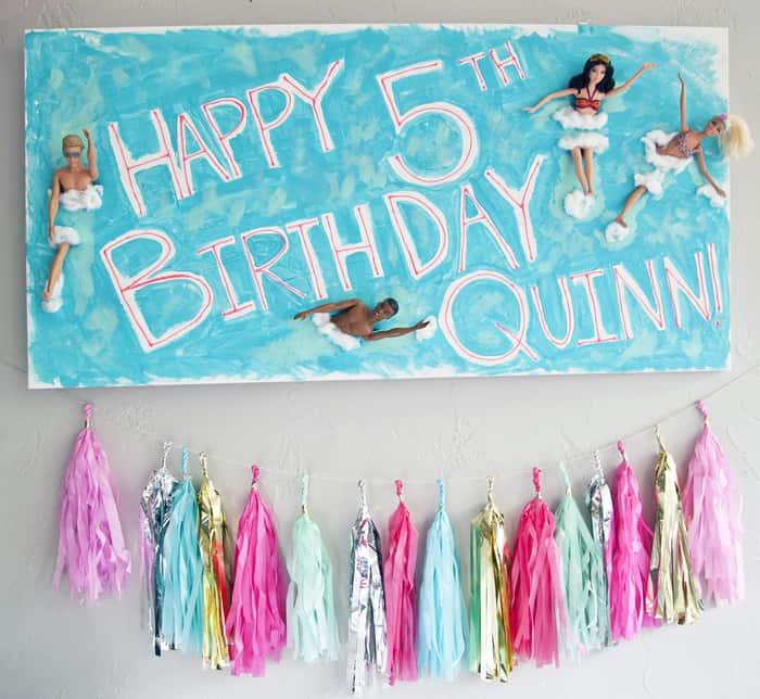 malibu barbie birthday beach party