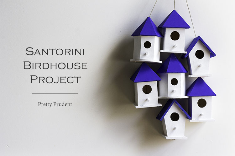 Santorini Birdhouse Project