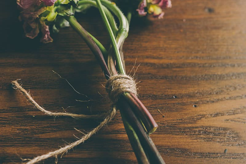 DIY Dried Flower Bouquet