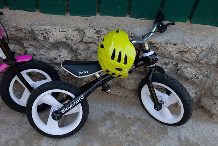 Giveaway: Joovy Bicycoo and Noodle Helmet